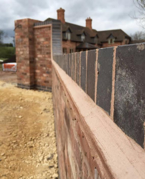 New wall built in worcester